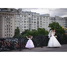 Russia, Moscow, 2012 - Bridal Party Photographic Print