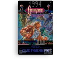 Castlevania: Bloodlines 1994 Canvas Print