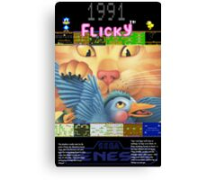 Flicky 1991 Canvas Print