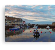 Harbour View at West Bay, Dorset Canvas Print