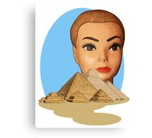 head of giza Canvas Print