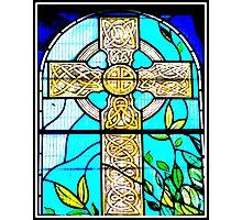Celtic Cross St. Fillians Aberdour Photographic Print