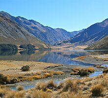 Lake Tennyson  - New Zealand by Kathy Reid