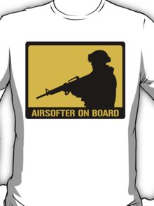 Airsofter on board T-Shirt