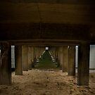 Underneath the pier  by Jackson  McCarthy