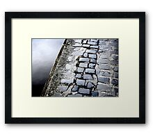 Quay Stone Capers Framed Print