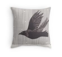 The Wind Blows Hard Throw Pillow