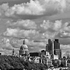London's Architectural Medley by George Parapadakis (monocotylidono)