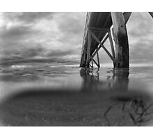 Under the sea. B & W Photographic Print