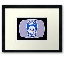 Frida Kahlo 3D Monster Mashup Framed Print