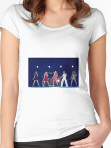 Boris is Baby Spice Women's Fitted Scoop T-Shirt