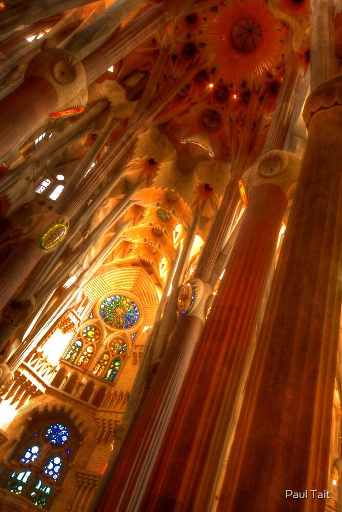 Sagrada Familia by Paul Tait