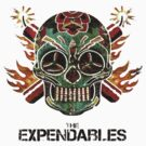 The Expendables mexican skull version by KeepItStupid