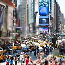 Times Square In Minature by Paul Thompson Photography