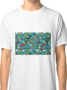 The best label with figures Classic T-Shirt