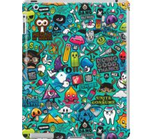 The best label with figures iPad Case/Skin
