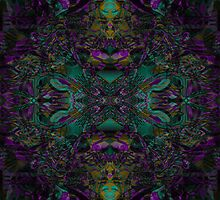 Purple And Jade by Rois Bheinn Art and Design