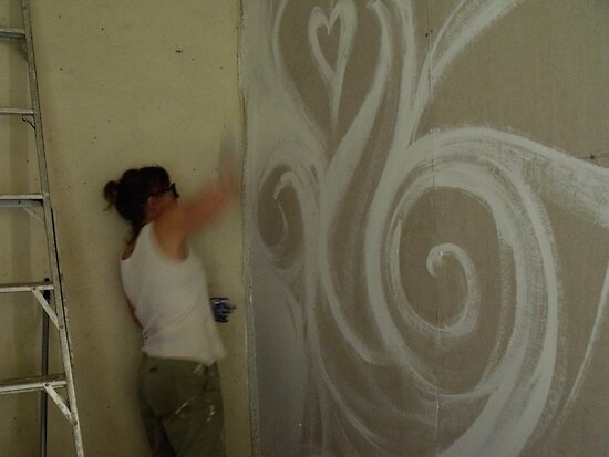 painting into a corner by LouJay