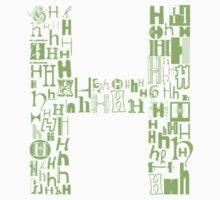 Font Fashion H by eldram