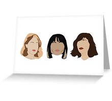 SLEATER-KINNEY Greeting Card