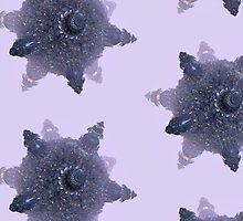 Purple fractal Starship by matteogamba