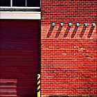 Brick Wall Geometry by Jane Underwood