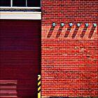 Brick Wall Geometry by Jane Underwood
