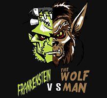 Frankenstein vs the Wolfman Zipped Hoodie