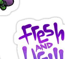 Lil' Rip Rotten Trio + Bonus F&U Stickers Sticker