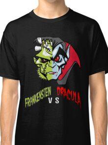 Frankenstein vs Dracula Classic T-Shirt