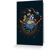 Intergalactic Hitchhikers Greeting Card