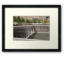 Ground Zero.. Framed Print