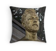 GOLDEN BUST Throw Pillow