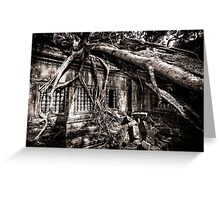 Ruin of Beng Mealea, Cambodia Greeting Card