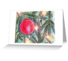 Christmas Tree Glow Greeting Card