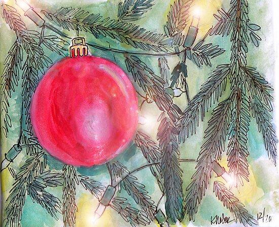 Christmas Tree Glow by Kristi Nobers