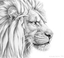 Lion g2011-006 by schukina by schukinart