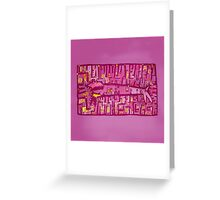 Be my lovly valentine! Greeting Card