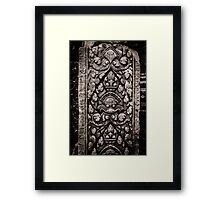 Banteay Srei (The Pink Temple) Framed Print