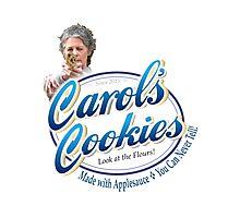 Famous Carol's Cookies Logo Photographic Print
