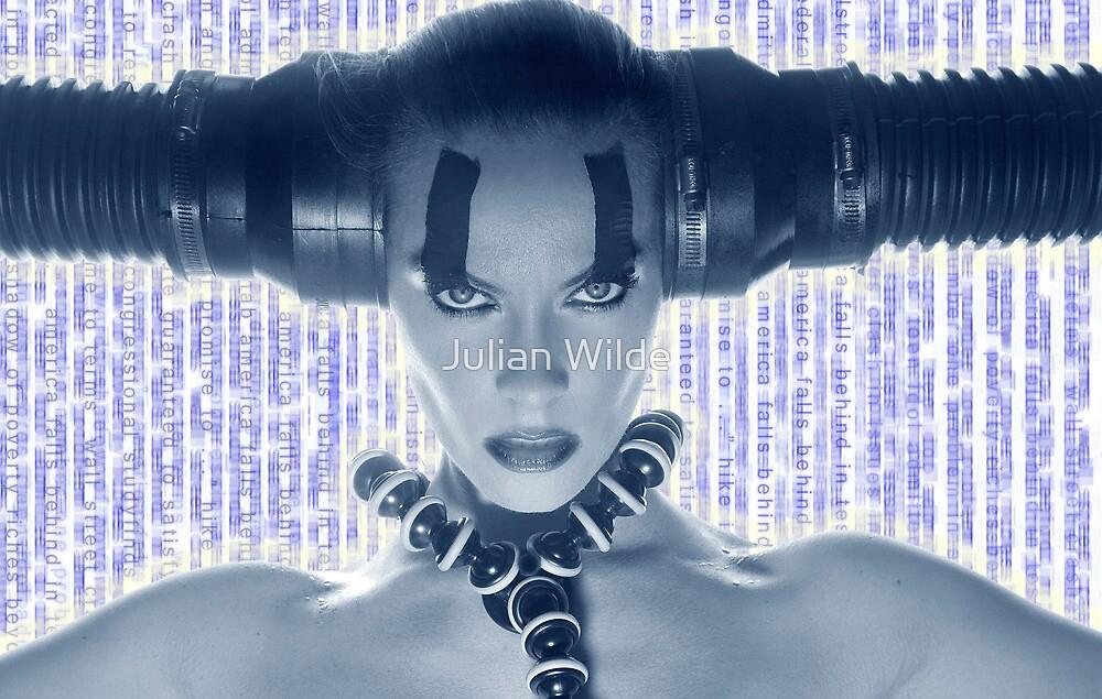 """""""Media Overkill."""" by Julian Wilde"""