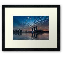Sunrise @ The Promontory, Marina Bay Framed Print