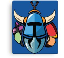 Shovel Knight Trio Canvas Print