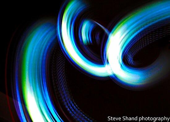 light streaks by Steve Shand