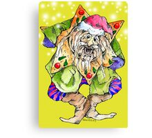 Christmas Elf Canvas Print