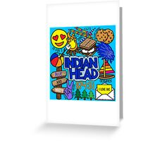 Indian Head  Greeting Card