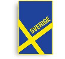 Sverige Canvas Print