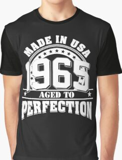 1965-Aged to perfection Graphic T-Shirt