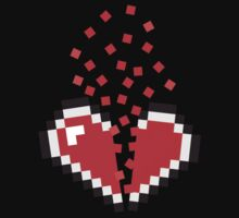 8 Bit Heart Break by chilipenguin