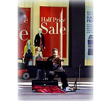 Classical Music on the Street Photographic Print